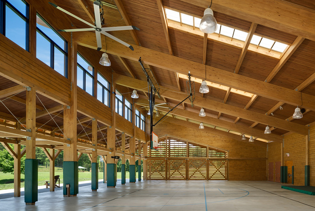 Regional Winner: YMCA Pavilion at Camp Harrison in Boomer, NC. Architect – C design Inc. Photo © Tim Buchman 2013