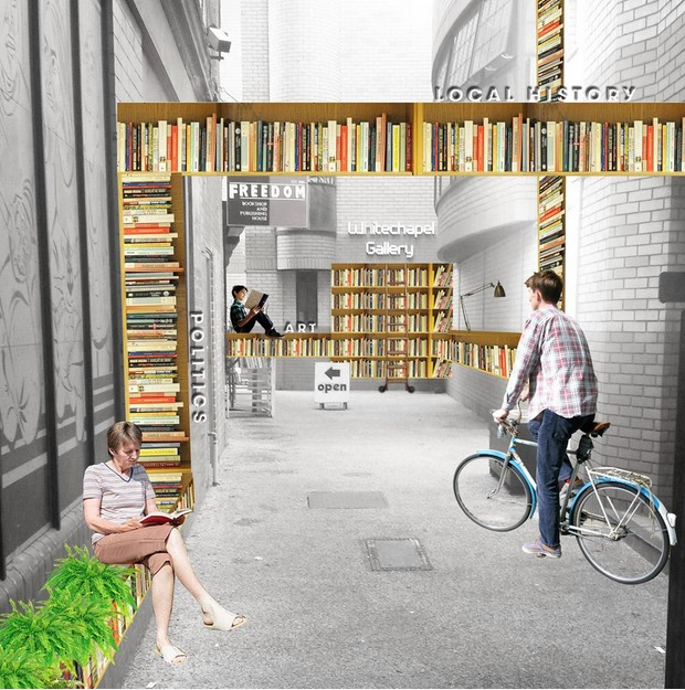"The ""Literalley"" a crowdfunding project submitted to the Mayor's page."
