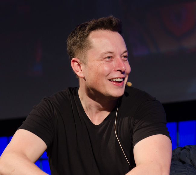 Elon Musk, the CEO of Tesla Motors and well-known public figure. Credit: Wikipedia