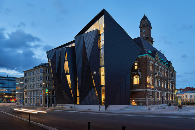 World Maritime University, Tornhuset by Terroir Pty Ltd. Photo courtesy of World Architecture Festival.