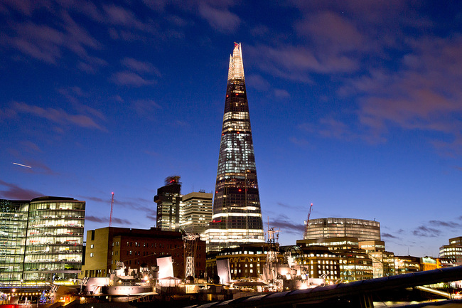 1. The Shard (London, UK) by Renzo Piano with Adamson Associates. Photo © Eric Smerling