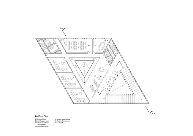 Floor plan - 2F (Image: studio SH)