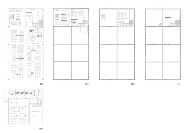 Floor plans (Image: Gorka Blas)
