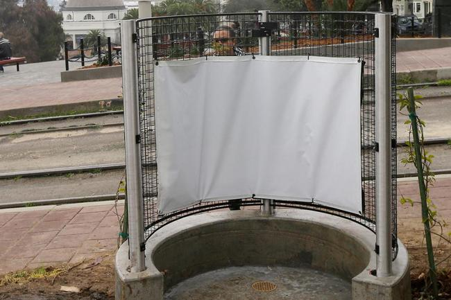 The urinal in question, which is adjacent to Dolores Park. Image via cnn.com