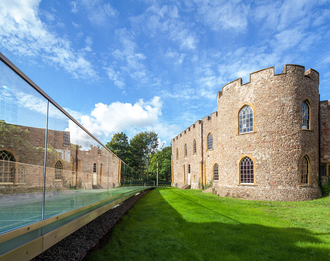 Shortlisted: Castle Green Bridge, Taunton, UK; Photo: Flint & Neill
