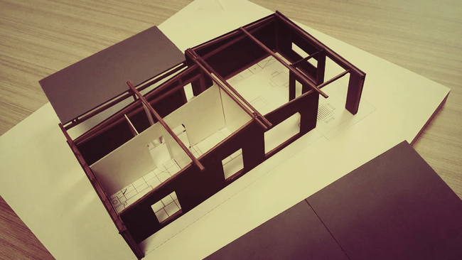 Studio19 2014 Model with interior layout [by Sam Lawson]