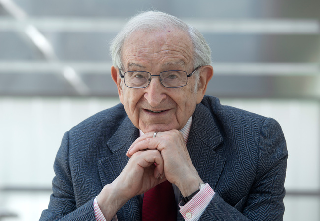 Recipient of the RIBA Royal Gold Medal 2014: Joseph Rykwert. Credit: Pawel MazurI CC Krakow