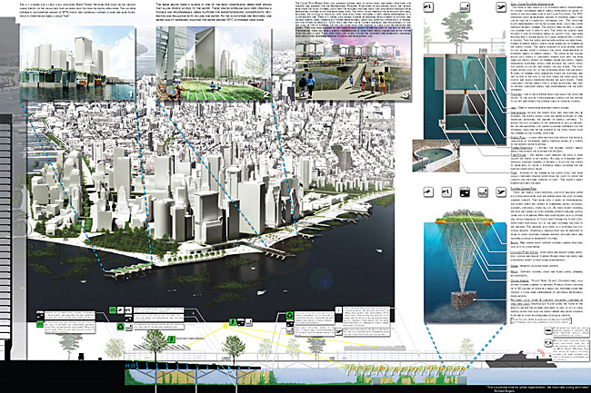 HONORABLE MENTION: NETWORK URBANISM by JDKP, USA (Jeffrey Troutman, Dustin Buck, Kendall Goodman, and Paul McBride)