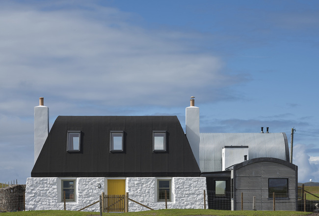 House no 7, Isle of Tiree, Denizen Works. Photo: David Barbour