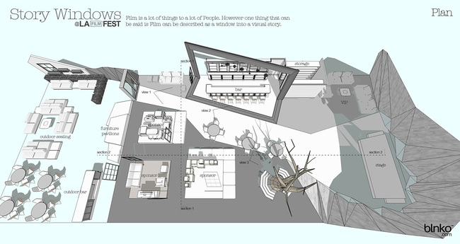 Plan of the winning design