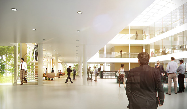Rendering interior (Image: Henning Larsen Architects)