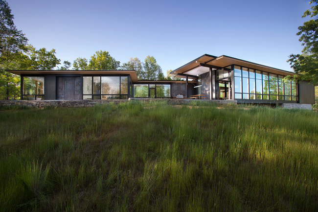 Highland View Residence in Mill Spring, North Carolina by Carlton Architecture & Designbuild