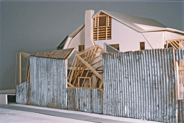 Gehry residence (model) photo via Gehry Partners, LLP : Rizzoli.