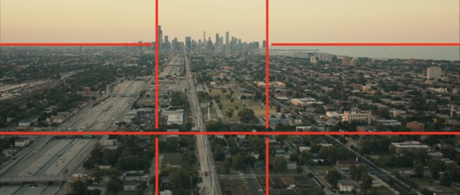 A still from the 'trailer' produced for the Chicago Architecture Biennial. Credit: Chicago Architecture Biennial