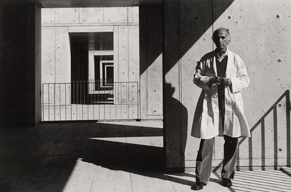 Jonas Salkphotographed at his eponymous institute in 1975worked with Louis Kahn on the design of the nonprofit scientific research center