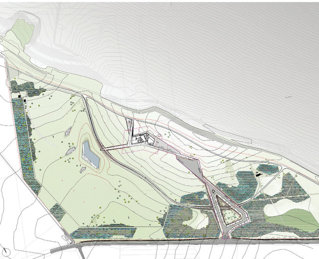 Site plan, © Topotek 1