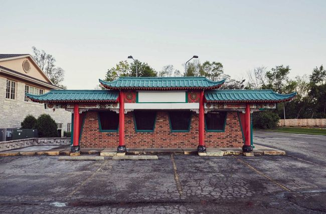 """The Great Wall"" restaurant, Illinois. Photo by Ho Hai Tran / Pizza Train."