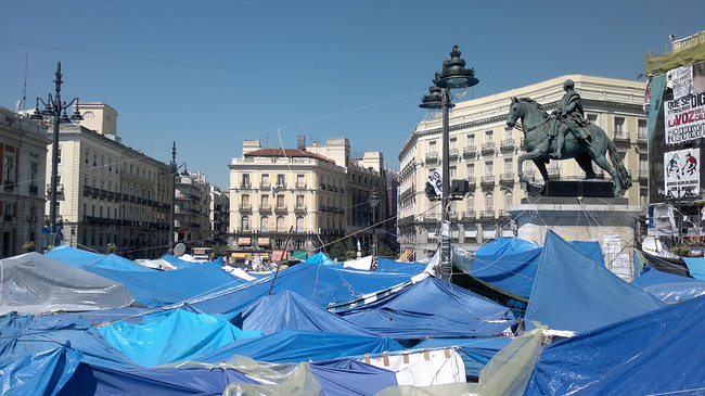SPECIAL CATEGORY: Acampada en la Puerta del Sol, Madrid (Spain), 2011 (Photo: )