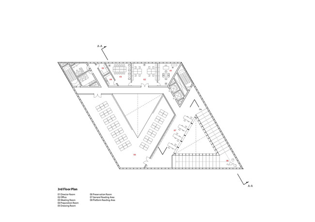 Floor plan - 3F (Image: studio SH)