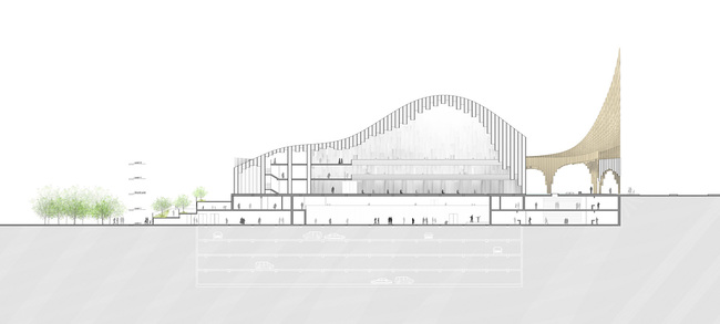 Section (Image: Taller 301 and L+CC)