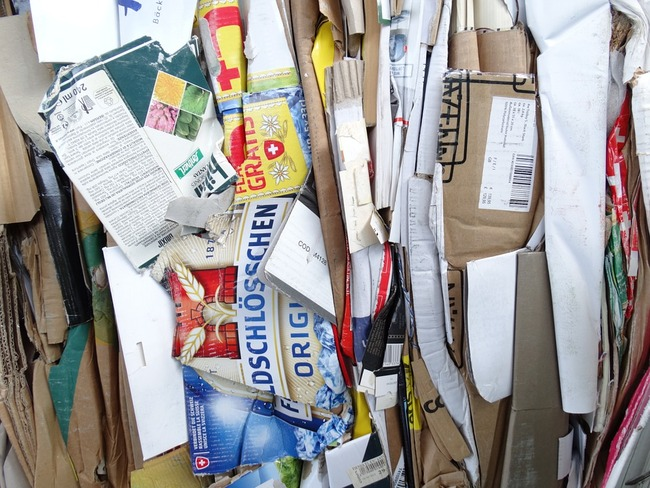 While recyclable, cardboard is increasing used and wasted as we order more and more things online.