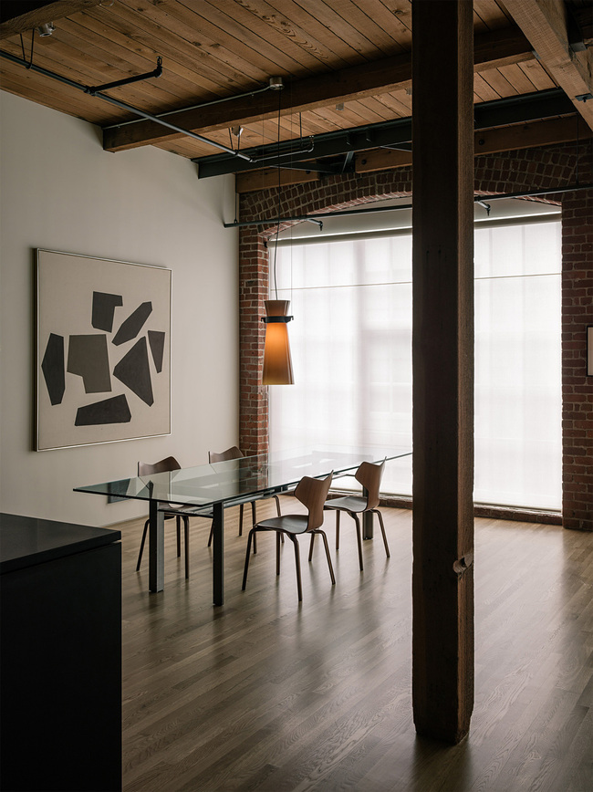 Loft in San Francisco, CA by LINEOFFICE Architecture; Photo: Joe Fletcher Photography