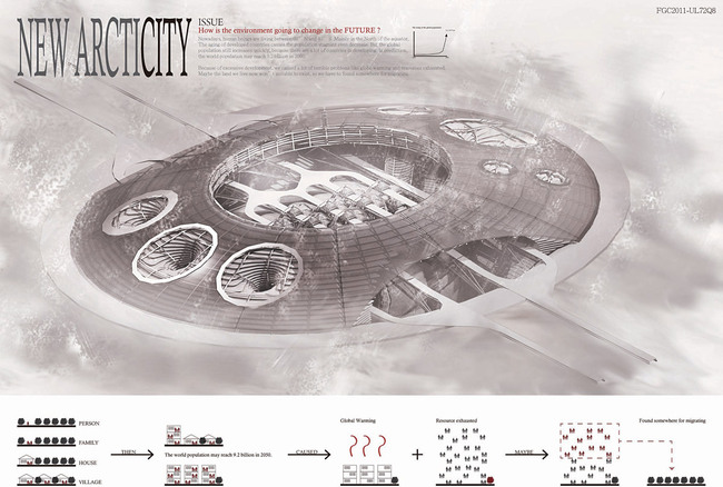 Honorable Mention: New Arcticity by Daniel Kang, National Taiwan University of Science