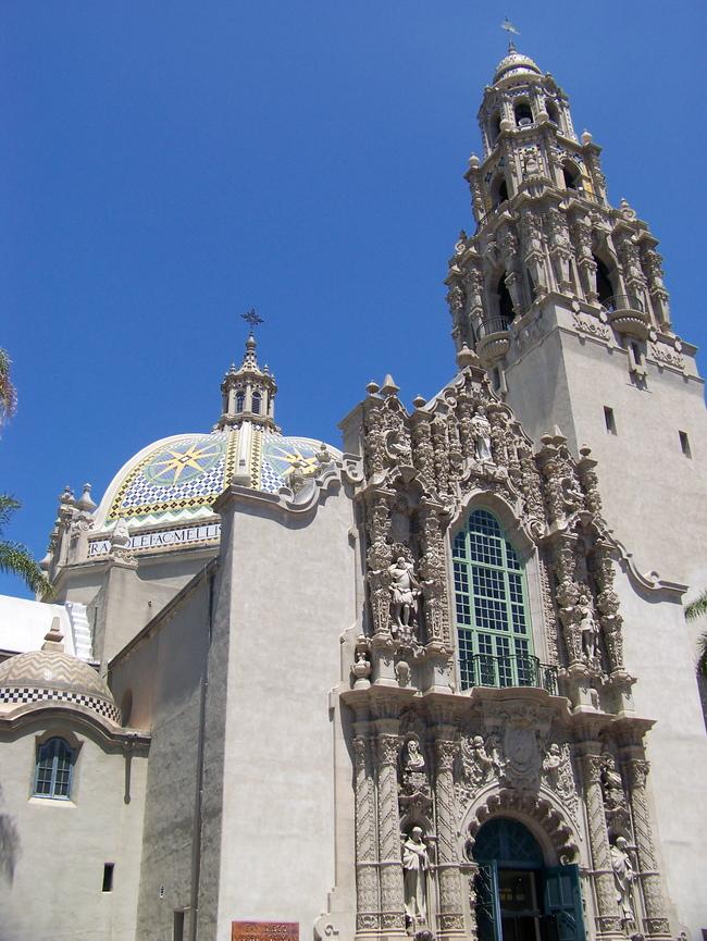 The Museum of Man in Balboa Park, image via Wikipedia.