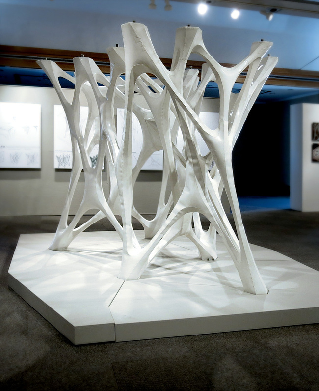 Cast Thicket installation (Image courtesy of TEX-FAB)
