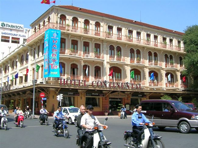 Hôtel Continental is just one of Ho Chi Minh City's architectural gems built during the French colonial period. (Image via Wikipedia)