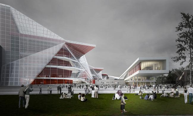 Riverfront (Image: H Architecture & Haeahn Architecture)