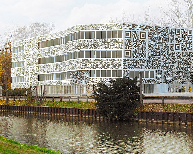 Close-up of the transformed building (Image: MVRDV)