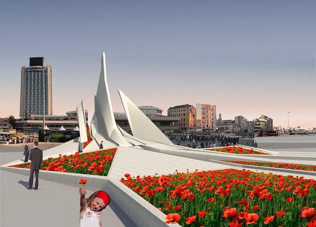 Gezi Park Monument by Studio Vural