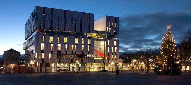 Uppsala Concert & Congress Hall, 2007 (Image: Henning Larsen Architects)