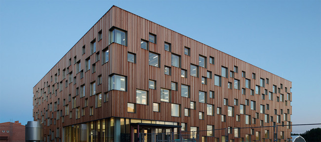 Ume School of Architecture, 2010 (Image: Henning Larsen Architects)