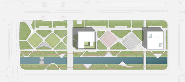 Site plan (Image: HENN)
