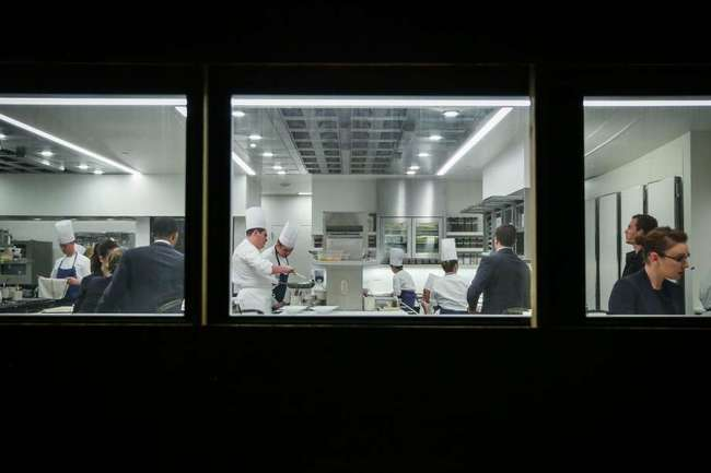 The kitchen as seen from the exterior. Photo: Gabrielle Lurie, The Chronicle