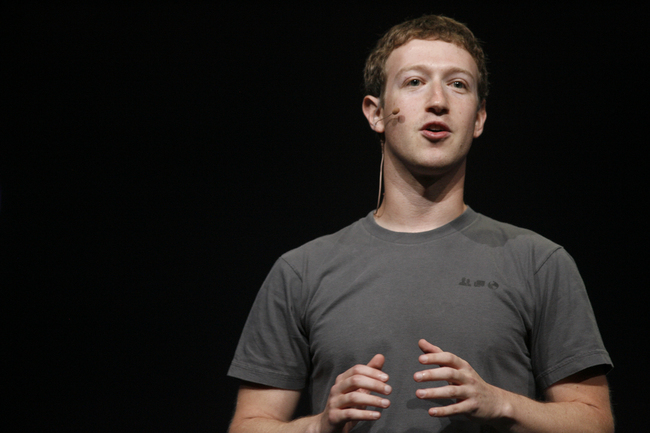 Facebook CEO Mark Zuckerberg. (credit: KIMIHIRO HOSHINO/AFP/Getty Images)