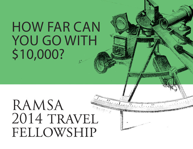 Robert A.M. Stern Architects 2014 RAMSA Travel Fellowship. Image courtesy of RAMSA.