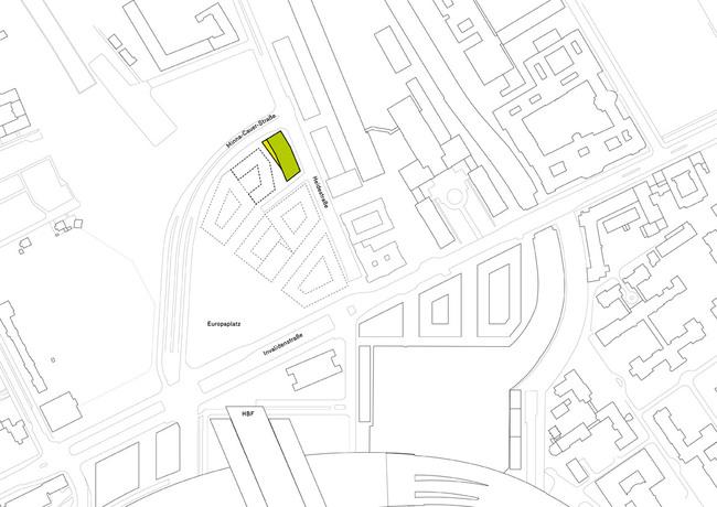 Site plan (Image: Barkow Leibinger)