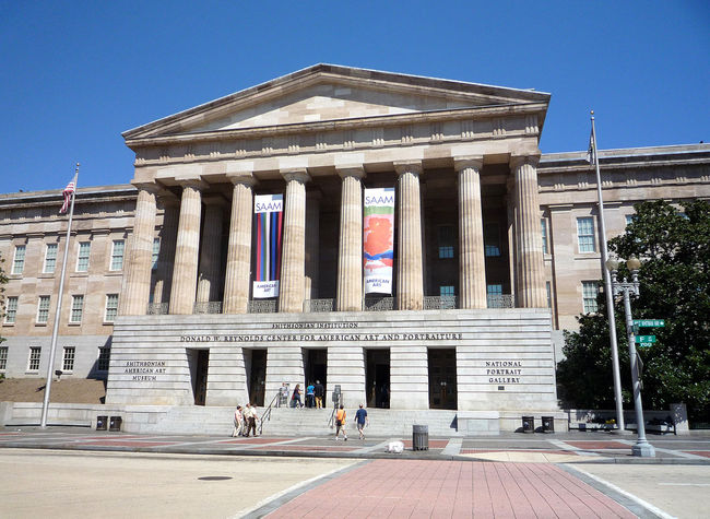 Only one of the 35,000 museums in the U.S.: The National Portrait Gallery in Washington, D.C. (Photo: Bobak Ha'Eri/Wikipedia)