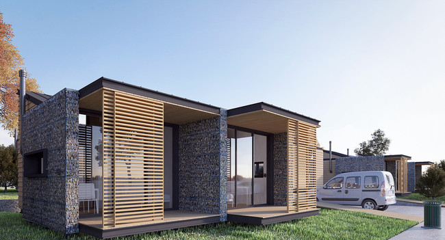 A closer look at riza3 39 s low cost housing plans for the - Scrivanie design low cost ...
