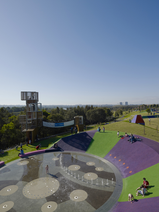 JMDdesigns latest project, Blaxland Common Regional Playspace