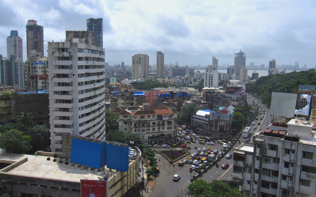 The Eastern View towards Mumbai