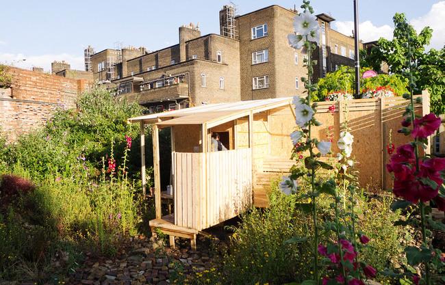 Spa station: sauna & wild garden (Photo: Julie Guiches)