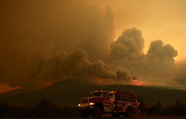 ire burns out of control at the Papoose Fire, June 27, 2013. (RJ Sangosti/The Denver Post)