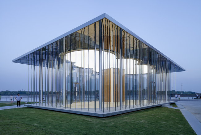 SHL's Cloud Pavilion in Shanghai. Image: Peter Dixie