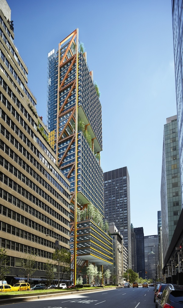 Hadid koolhaas and rogers losing designs for park avenue for Park avenue designs