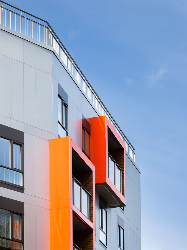 رنگ و معماری