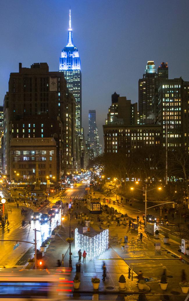 New York Light installation by INABA. Photo: Cameron Blaylock